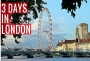 What to do with 3 days in London